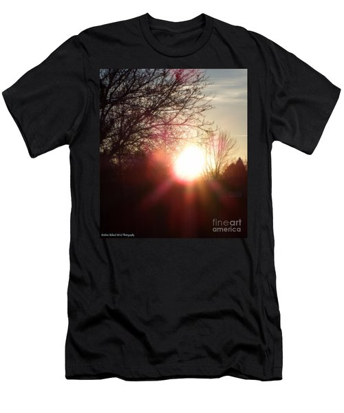 Nevada Sunset Men's T-Shirt (Athletic Fit)