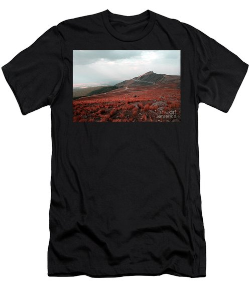 Nevado De Toluca Mexico II Men's T-Shirt (Athletic Fit)