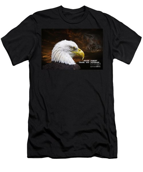 Never Forget - Memorial Day Men's T-Shirt (Athletic Fit)