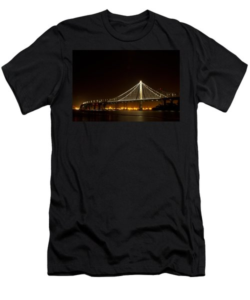 New Bay Bridge Men's T-Shirt (Slim Fit) by Bill Gallagher