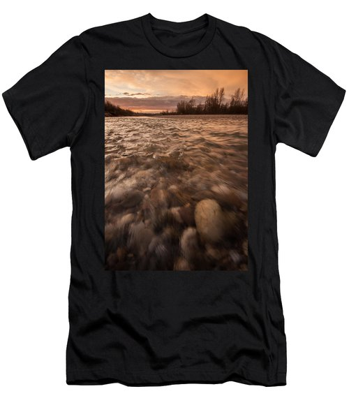 Men's T-Shirt (Slim Fit) featuring the photograph New Dawn by Davorin Mance