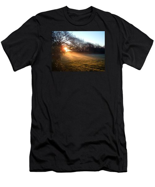 New Dawn Fades Men's T-Shirt (Slim Fit) by Richard Brookes