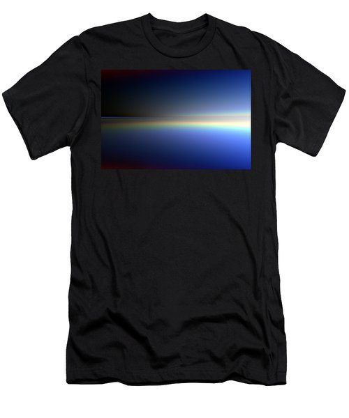 Men's T-Shirt (Slim Fit) featuring the digital art New Day Coming by Andreas Thust