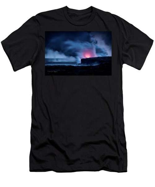 Men's T-Shirt (Slim Fit) featuring the photograph New Earth by Jim Thompson