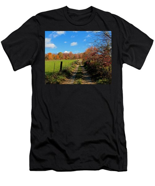New England Farm Rota Springs Men's T-Shirt (Athletic Fit)