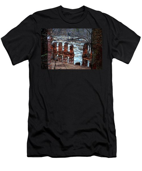 New Manchester Manufacturing Company Ruins Men's T-Shirt (Slim Fit) by Tara Potts
