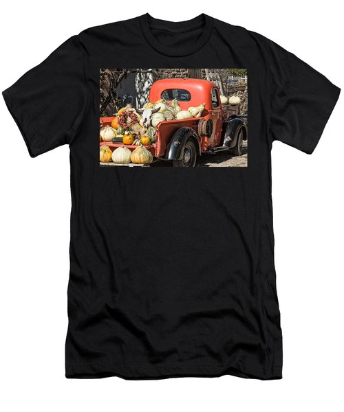New Mexico Fall Harvest Truck Men's T-Shirt (Slim Fit) by Steven Bateson