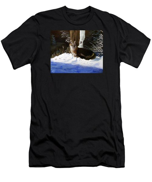 New Mexico Swift Fox Men's T-Shirt (Slim Fit) by Sheri Keith
