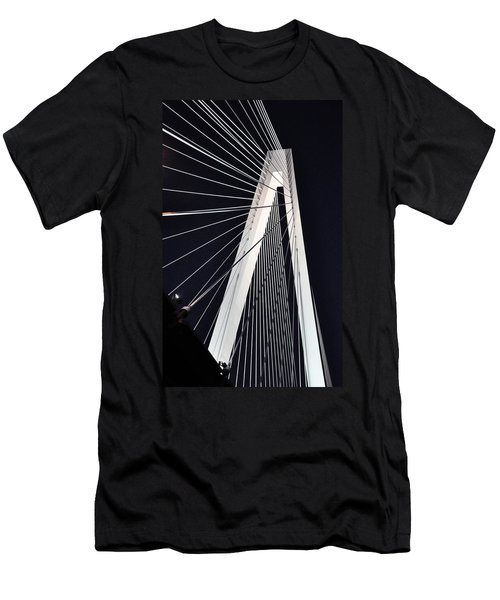 New Mississippi River Bridge Men's T-Shirt (Athletic Fit)
