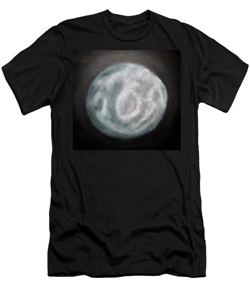 Men's T-Shirt (Slim Fit) featuring the painting New Moon by Joel Loftus