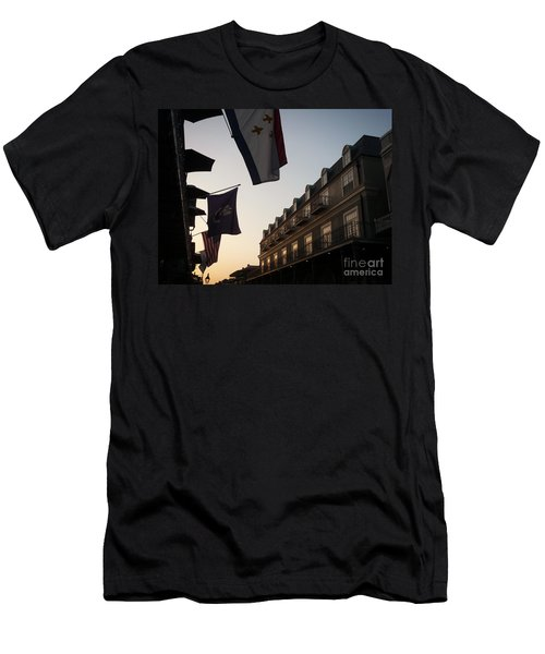Evening In New Orleans Men's T-Shirt (Slim Fit) by Valerie Reeves