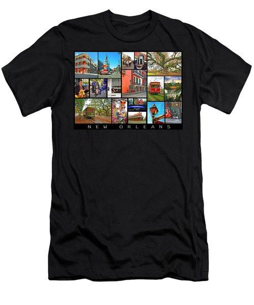 New Orleans Men's T-Shirt (Athletic Fit)