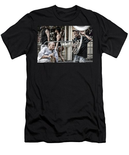New Orleans Street Jam Men's T-Shirt (Athletic Fit)