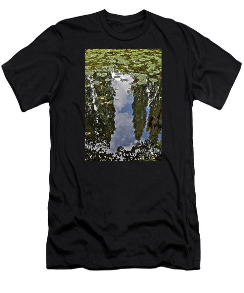 Reflections Amongst The Lily Pads Men's T-Shirt (Athletic Fit)