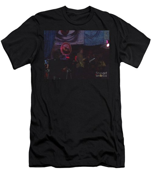 Men's T-Shirt (Slim Fit) featuring the photograph New Riders At Club 2120 by Kelly Awad