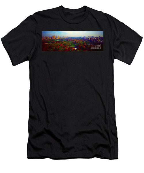 New York City Central Park South Men's T-Shirt (Athletic Fit)