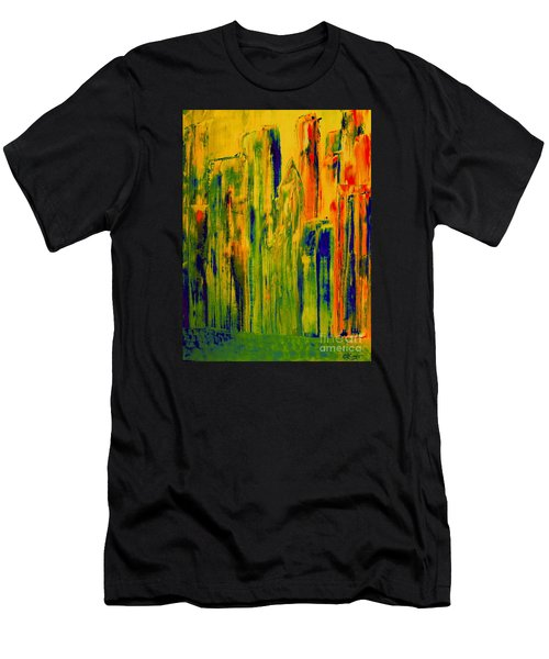 New York On A Hot June Morning Men's T-Shirt (Athletic Fit)