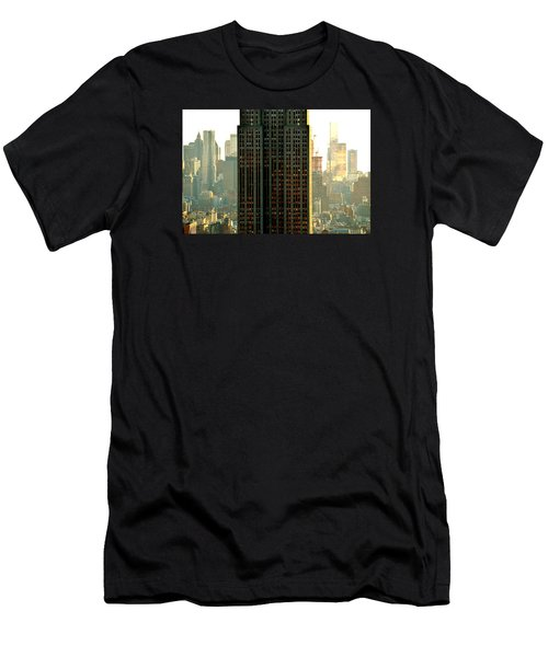 New York Scraper Men's T-Shirt (Athletic Fit)