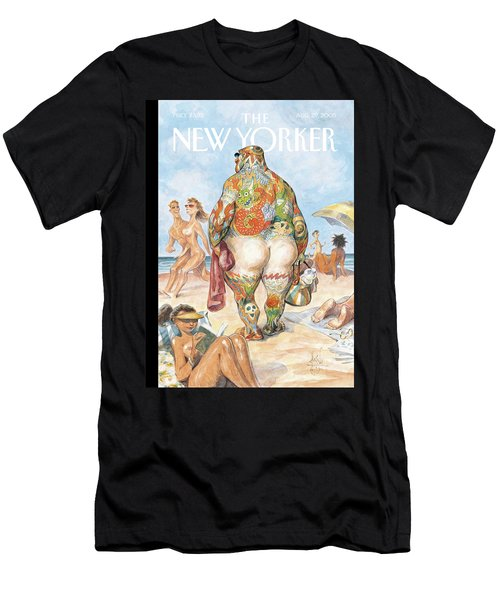 New Yorker August 29th, 2005 Men's T-Shirt (Athletic Fit)