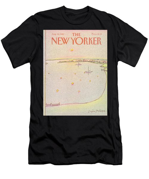 New Yorker August 30th, 1982 Men's T-Shirt (Athletic Fit)