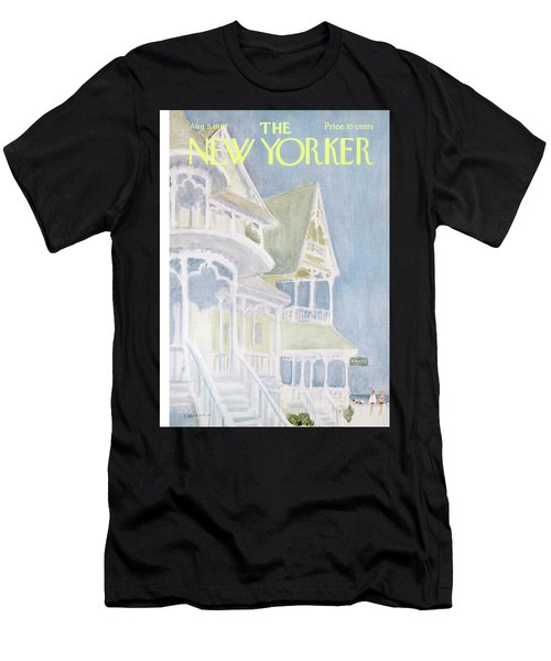 New Yorker August 5th, 1967 Men's T-Shirt (Athletic Fit)