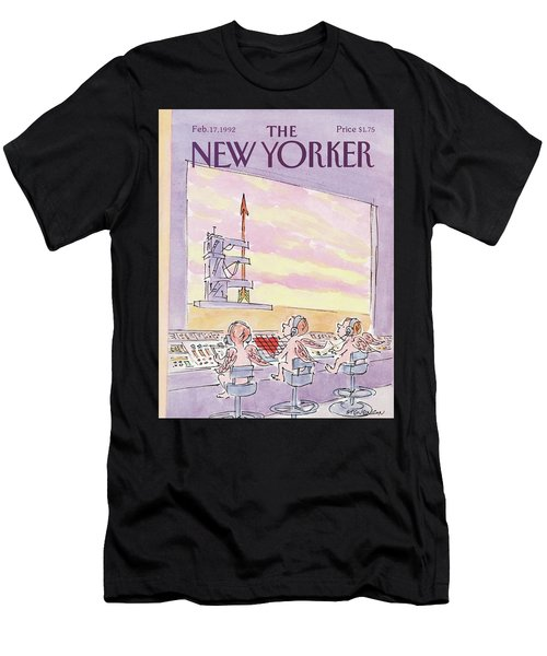 New Yorker February 17th, 1992 Men's T-Shirt (Athletic Fit)