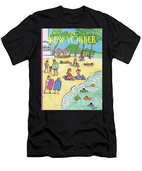 New Yorker January 20th, 1992 Men's T-Shirt (Athletic Fit)