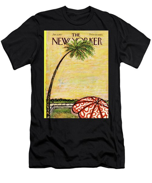 New Yorker January 5th, 1957 Men's T-Shirt (Athletic Fit)