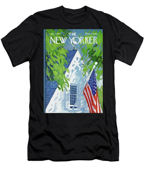 New Yorker July 2nd, 1966 Men's T-Shirt (Athletic Fit)