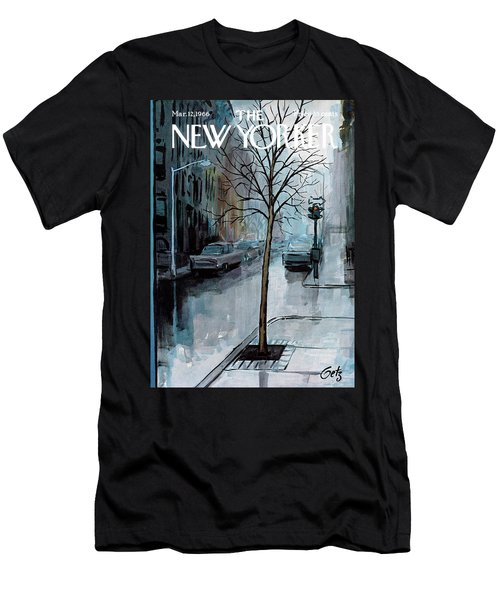 New Yorker March 12th, 1966 Men's T-Shirt (Athletic Fit)