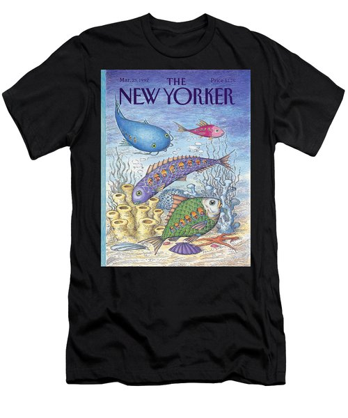 New Yorker March 23rd, 1992 Men's T-Shirt (Athletic Fit)