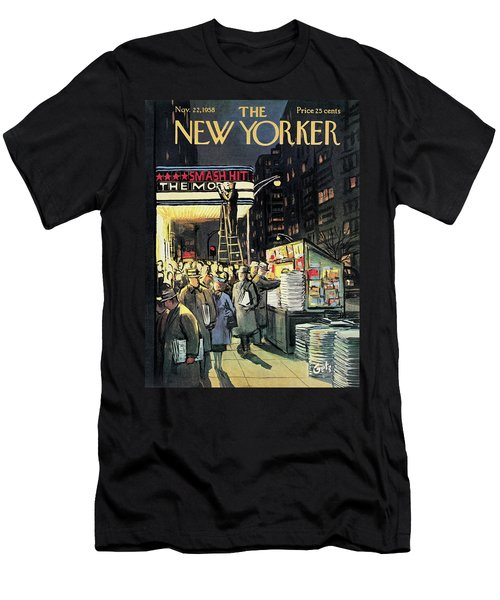 New Yorker November 22nd, 1958 Men's T-Shirt (Athletic Fit)