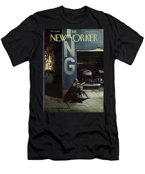 New Yorker October 5th, 1957 Men's T-Shirt (Athletic Fit)