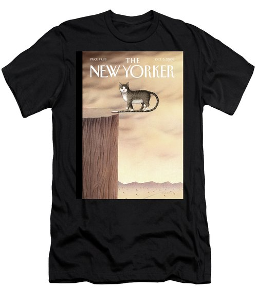 New Yorker October 5th, 2009 Men's T-Shirt (Athletic Fit)
