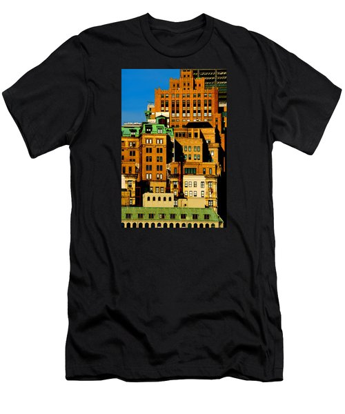 New York Morning Men's T-Shirt (Athletic Fit)