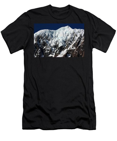 New Zealand Mountains Men's T-Shirt (Slim Fit) by Amanda Stadther