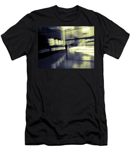 Men's T-Shirt (Slim Fit) featuring the photograph Nexus by Alex Lapidus