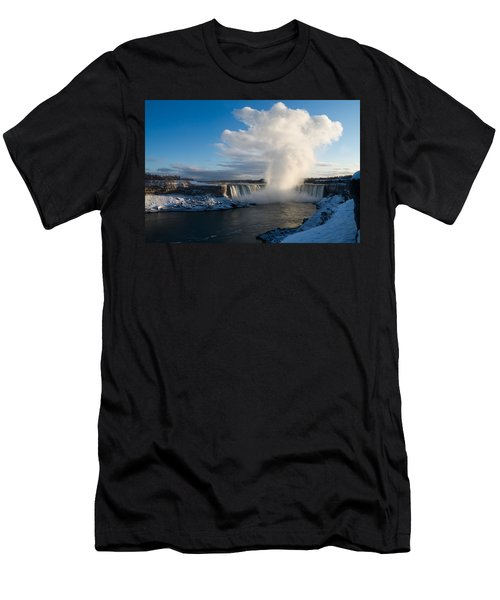 Niagara Falls Makes Its Own Weather Men's T-Shirt (Athletic Fit)