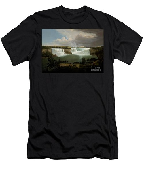 Niagra Falls By Alvan Fisher Men's T-Shirt (Athletic Fit)
