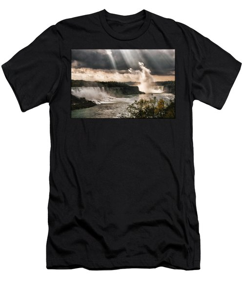 Niagra Falls Men's T-Shirt (Athletic Fit)