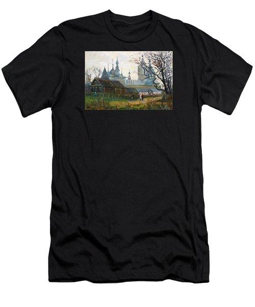 Nicholas Uleyminsky Monastery Men's T-Shirt (Athletic Fit)