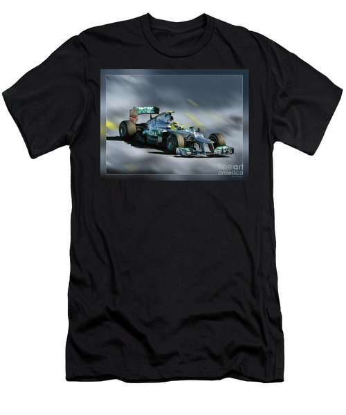 Nico Rosberg Mercedes Benz Men's T-Shirt (Athletic Fit)