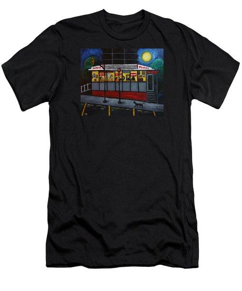 Night At An Arlington Diner Men's T-Shirt (Athletic Fit)