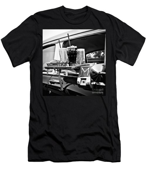Night At The Drive-in Movies Men's T-Shirt (Athletic Fit)