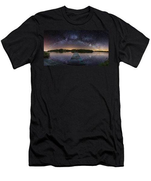 Night At The Lake  Men's T-Shirt (Athletic Fit)