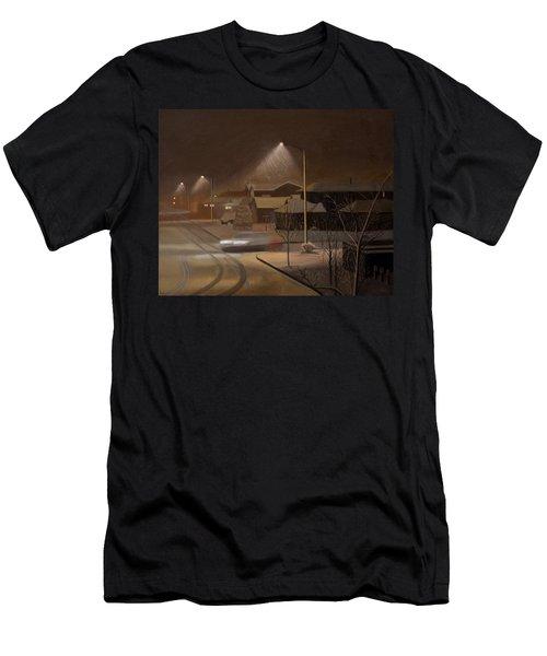 Night Drive Men's T-Shirt (Athletic Fit)