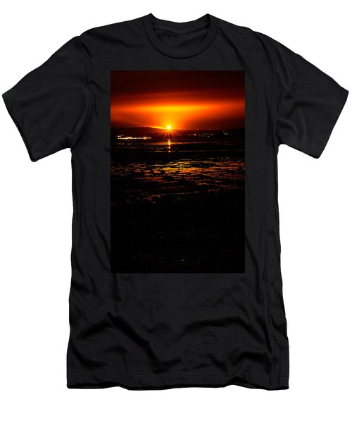 Night Flare. Men's T-Shirt (Athletic Fit)