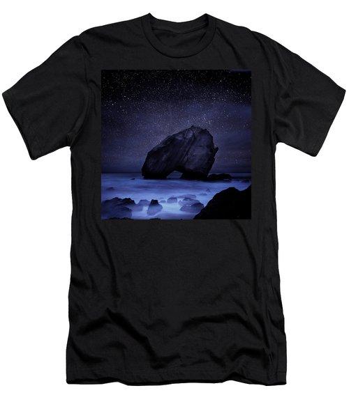Night Guardian Men's T-Shirt (Slim Fit) by Jorge Maia