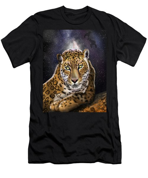 Fourth Of The Big Cat Series - Leopard Men's T-Shirt (Athletic Fit)