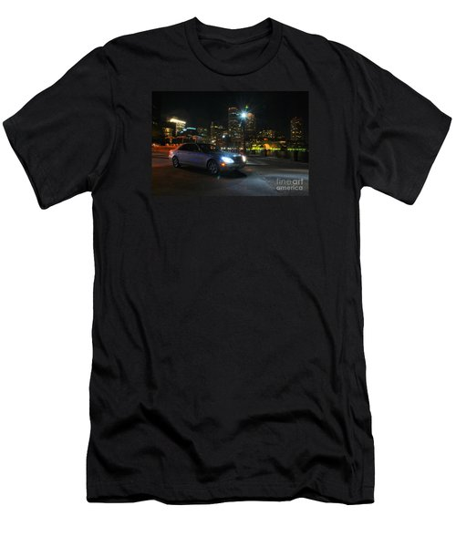 Night Out In Boston Men's T-Shirt (Athletic Fit)